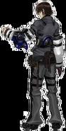 Artwork de Caim de espaldas - Drakengard