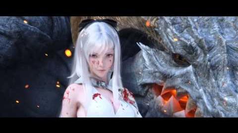 Drag-On Dragoon 3 Advertisement Movie