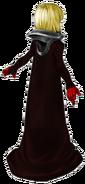 Artwork de Manah de espaldas - Drakengard