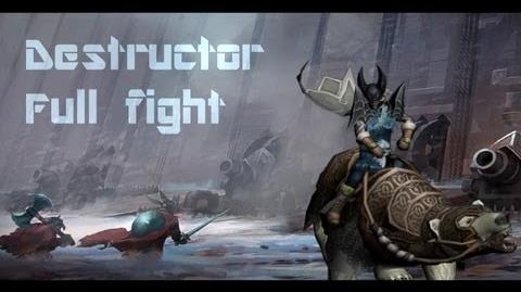 Destructor - Full fight (New Boss lvl 45)