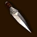 Waffe Gehaertetes Wurfmesser