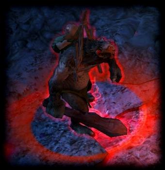 Пещерный тролль огненного кулака (особый)