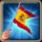Флажок Испании