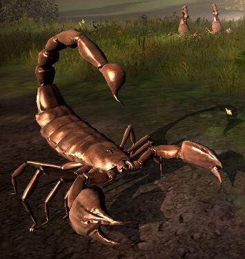 Riesen Scorpion