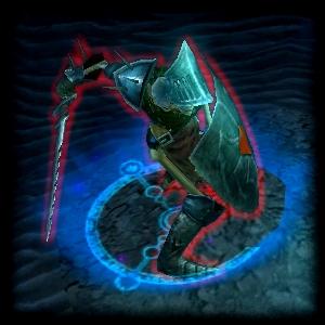 Мрачный скелет-воин (особый)
