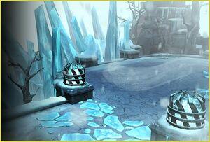 Тайное логово льда (постер)