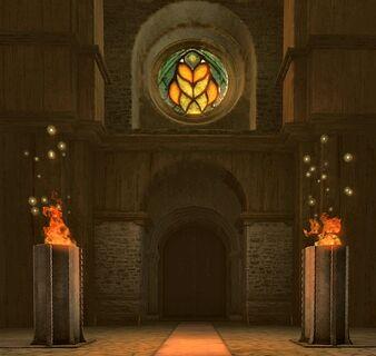 Peraine-Tempel innen