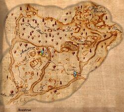 Avestrue Map
