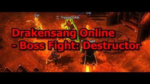 Boss Fight Destructor