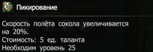 Пикирование