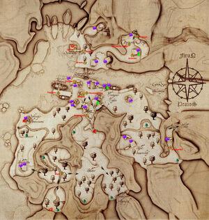 Hammerberg - Karte
