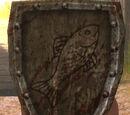 Wappenschild derer vom Großen Fluss