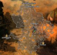 Darbmoor kartta