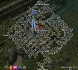 Oceanus's Opal Shrine map