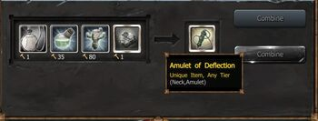 Amulet of Deflection Craft1