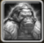 Armored White Gorilla Icon