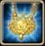 Helios golden amulet