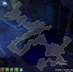 Kingshil in Former Glory Map