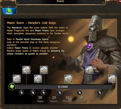 Materi Storm - Heredur's Cold Reign