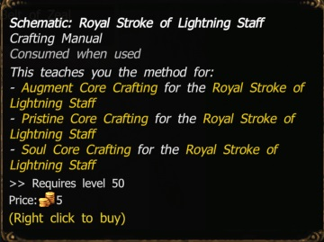 schematic royal stroke of lightning staff drakensang online wiki rh drakensangonline fandom com