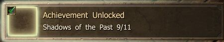 Shadows of the Past 9-11 end Achievement