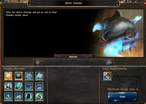 Djinn's Chamber Screen Normal