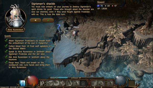 Sigrimarr's shackle c