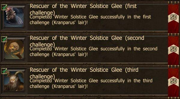 Achievements WSF C