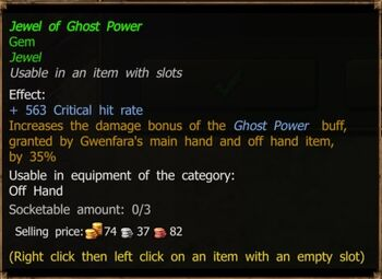 Jewel of Ghost Power (Improved)