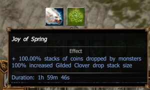 Joy of Spring Buff