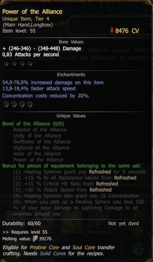 Power of the Alliance RA T4