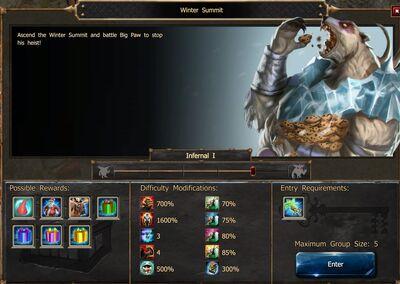Winter Summit I1N Screen