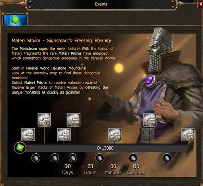 Materi Storm - Sigrismarr's Freezing Eternity
