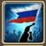 Festive Flag (Russia) Icon