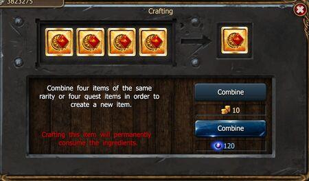 T1 Items Craft