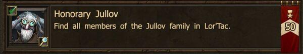 Honorary Jullov Achievement