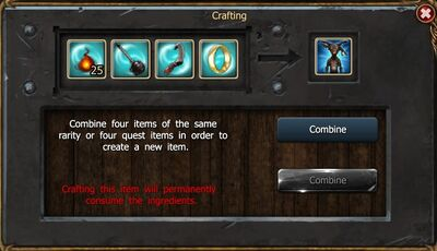 Bolstered Fire Gnome craft