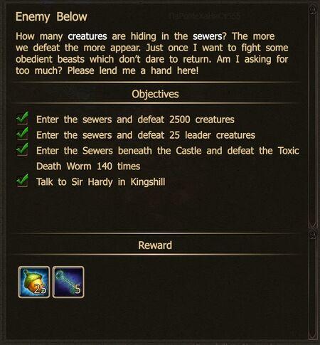 Enemy Below N1-N