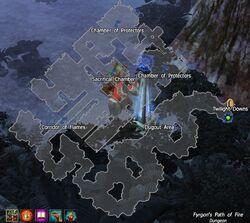 Fyrgon's Path of Fire map