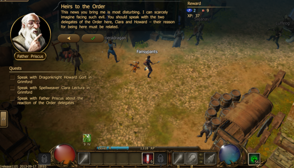 Heirs to the order 2.1