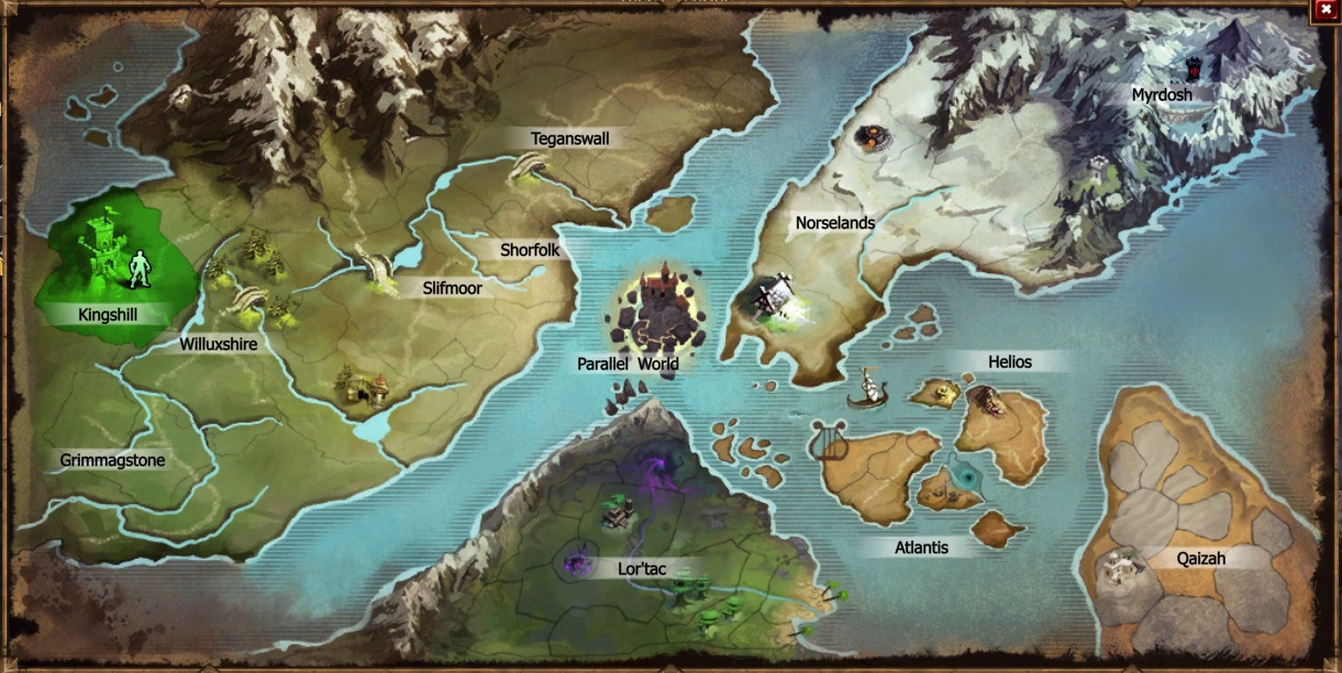 Locations drakensang online wiki fandom powered by wikia latest world map gumiabroncs Choice Image
