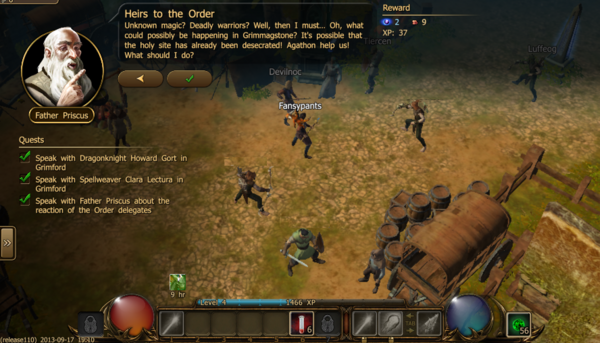 Heirs to the order 2.2