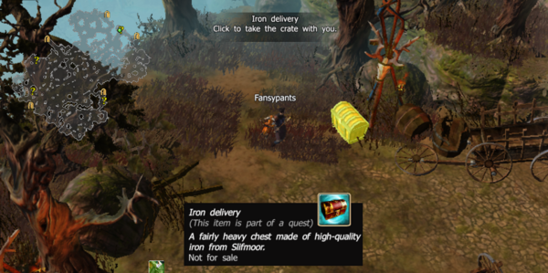 Iron delivery
