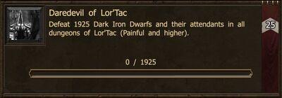 Achievement-Daredevil of Lor'Tac