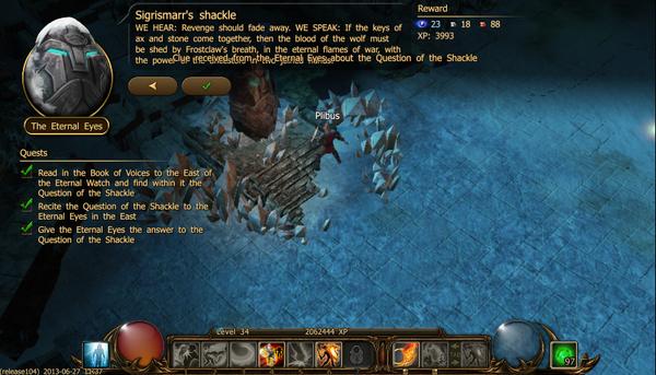 Sigrimar's shackle a