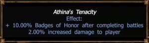 Athina's Tenacity