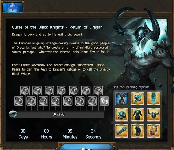 Curse of the Black Knights - Return of Dragan IV