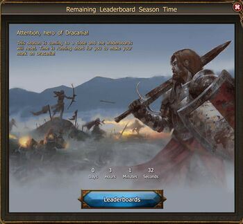 Leaderboards event screen1
