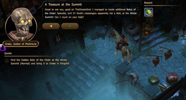 A Treasure at the Summit - new