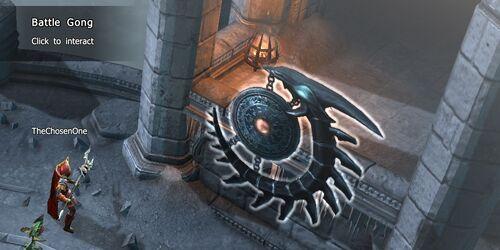 Black Knights' Battleground CoT V Battle Gong